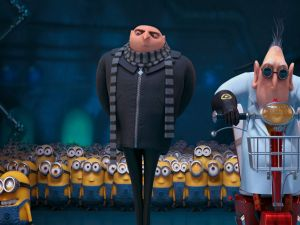 Characters from the movie: Despicable Me II