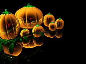 Pumpkins for Halloween night