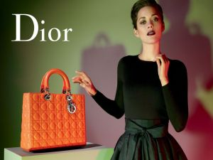 Christian Dior, orange bag