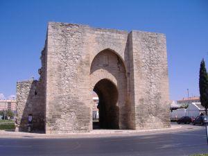 Puerta de Toledo in Ciudad Real (Spain)