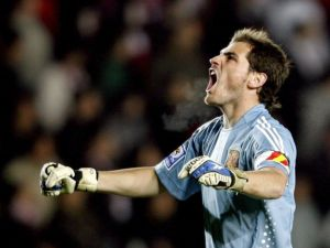 Scream of Iker Casillas