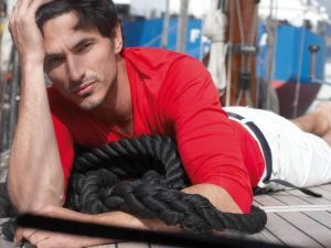 The Spanish model Andres Velencoso