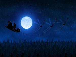 A very special Santa's sleigh