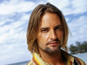 The American actor Josh Holloway
