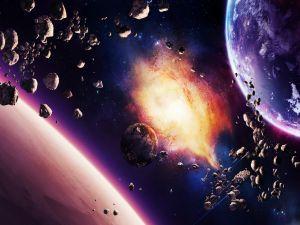 Rain of asteroids