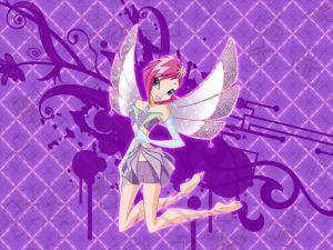 Fairy mauve colored