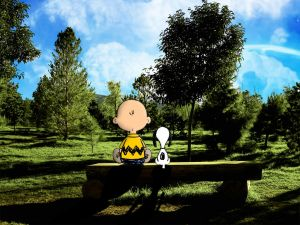 Carlitos and Snoopy