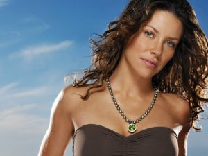 The Canadian actress Evangeline Lilly