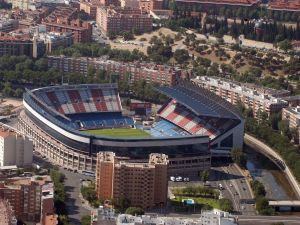 Panoramic of Estadio Vicente Calderón (Atlético de Madrid)