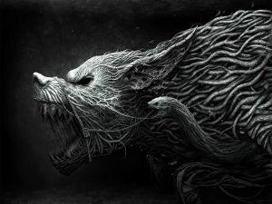 Enraged beast