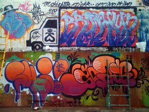 Truck graffiti