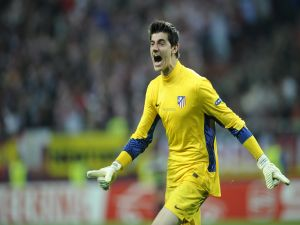 Courtois, goalkeeper of Atlético de Madrid