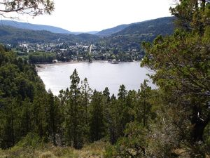 "View of ""San Martin de los Andes"" from Mirador Bandurrias"