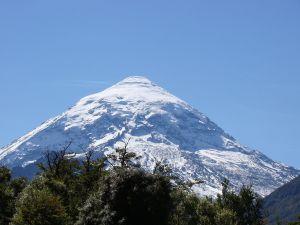 Lanín, an imposing volcano