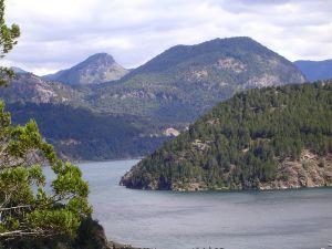 View of Lácar Lake, near San Martin de los Andes (Argentina)