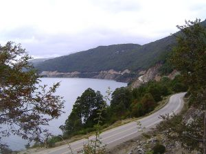 """National Route 234, the """"Route of the Seven Lakes"""" (Argentina)"""