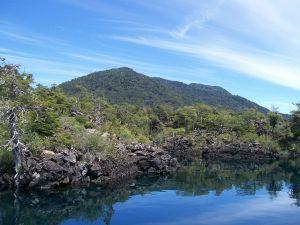 Escorial volcanic, Huechulafquen Lake