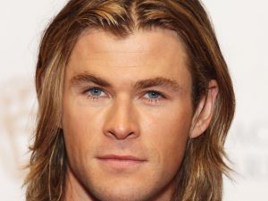The blue eyes of Chris Hemsworth