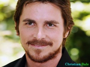 The actor Christian Bale