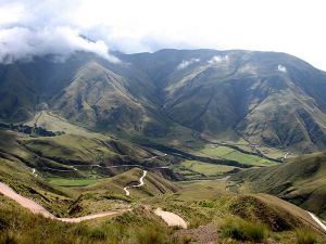Cuesta del Obispo, Province of Salta (Argentina)