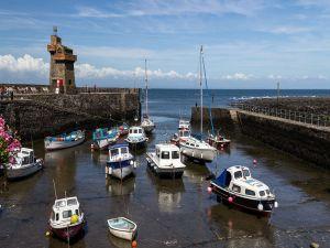 Lynmouth Harbour, Devon, England