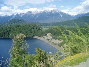 View of Espejo Lake (Argentina)