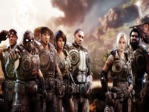 Characters of videogame Gears of War 3