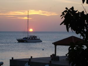 Sunset in Bonaire, Netherlands Antilles (Southern Caribbean)
