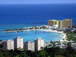 View of Ocho Rios (Jamaica)
