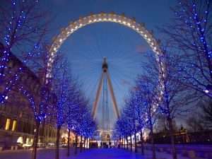 Ferris wheel of London