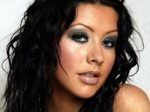 The singer Christina Aguilera
