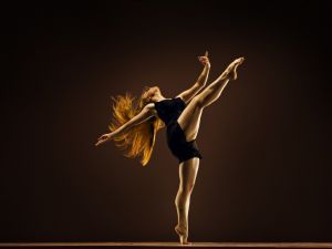 The energy of dance