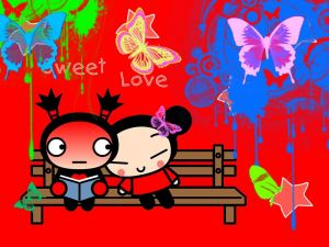 """Sweet Love"" Pucca and Garu"