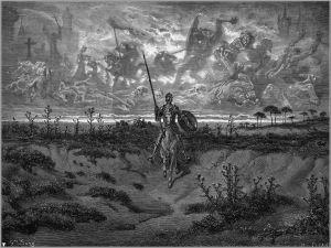 Art print of Don Quixote