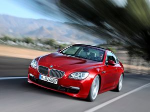 Car BMW Coupe Vermillion