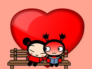 Pucca and Garu together