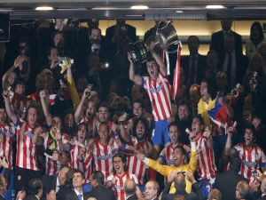 Victory of Atletico de Madrid