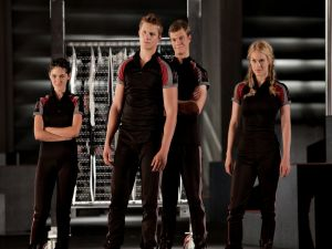 "A team of ""The Hunger Games"""