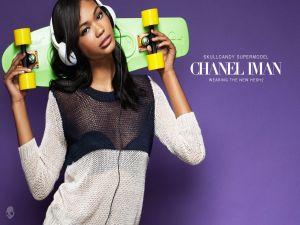 Chanel Iman, Supermodel