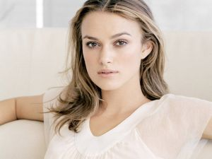 Keira Knightley, actress and model