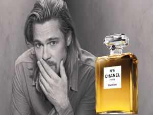Brad Pitt and Chanel nº5