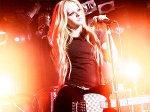 Avril Lavigne in concert