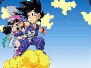 Goku and Milk