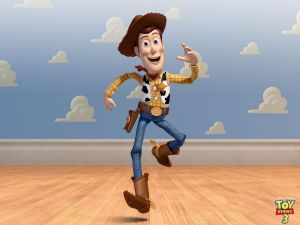 "Woody in ""Toy Story 3"""