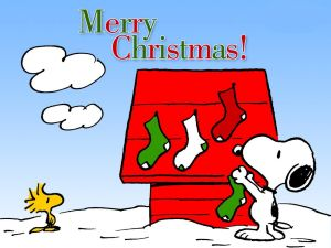 Merry Christmas with Snoopy