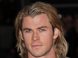 Chris Hemsworth, beautiful blue eyes