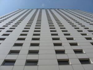 Building seen from below