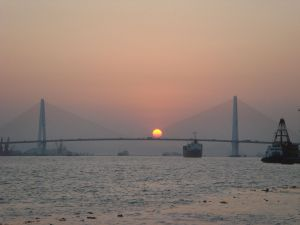 The Queshi, bridge over the Han River in Shantou