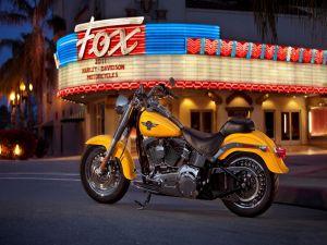 "Stunning motorcycle Harley Davidson model ""FatBoy"""