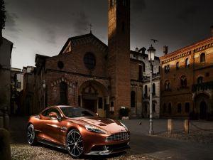 Sports car Aston Martin